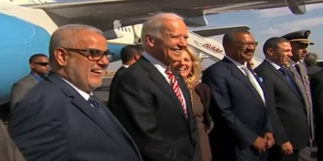 """عندما تمنى المغرب لجو بايدن """"عيد ميلاد سعيد"""" (فيديو)"""