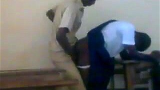 An African student fucks with her classmate-Promohitz
