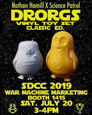 San Diego Comic-Con 2019 Exclusive Drorgs Classic Edition Star Wars Sofubi Figure Set by Nathan Hamill x Science Patrol