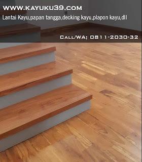 parquet dan papan tangga jati