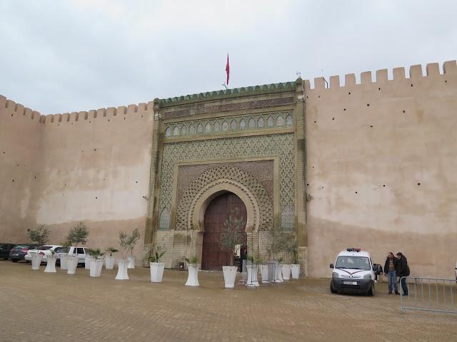 Puerta del Palacio Real de Meknes