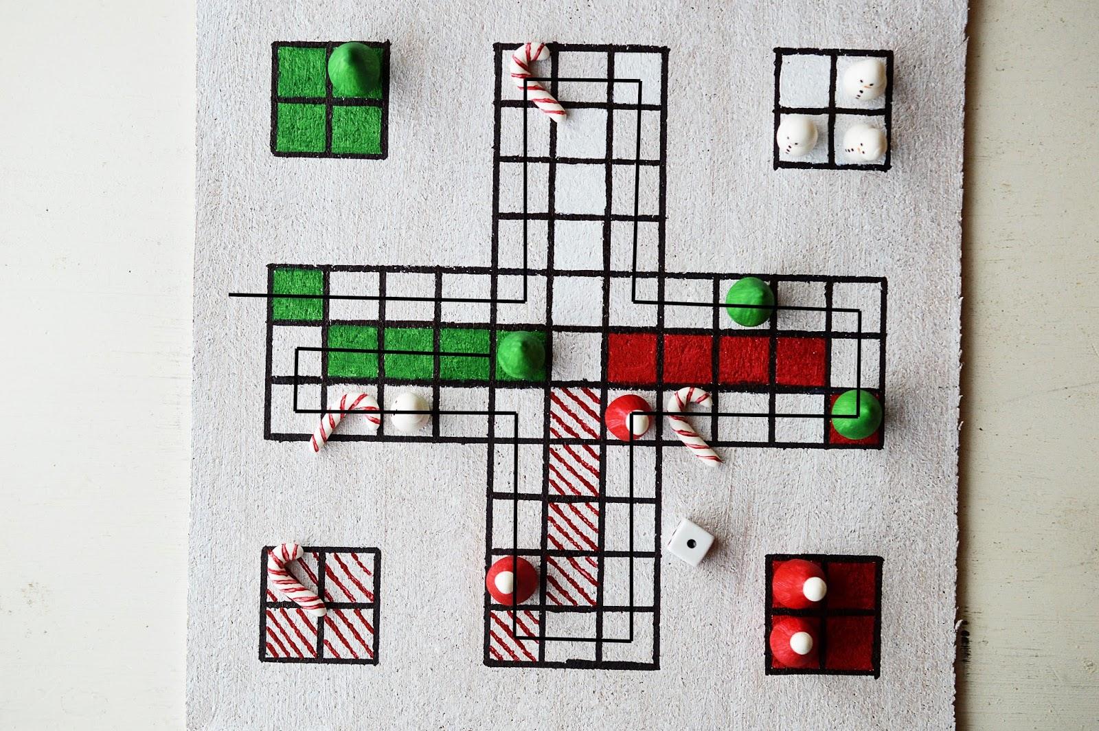 DIY Christmas Board Game | Santa ärgere dich nicht