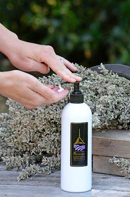 Lavender Hand & Body Lotion handmade by Pelindaba Lavender