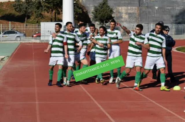 Ο Παναργειακός κέρδισε στο Άργος το Ναύπλιο 2017