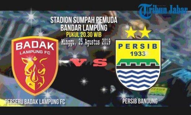 Daftar Pemain Persib Bandung vs Badak Lampung FC