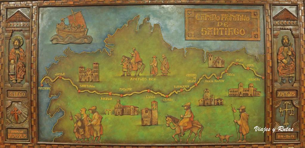 Camino primitivo de Santiago