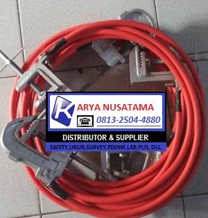 Jual LLC Clamp Kabel Custem Ground 25mtr kirim ke Kalimantan