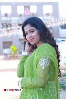 Actress Manaali Rathod Latest Pictures in Green Dress  0116