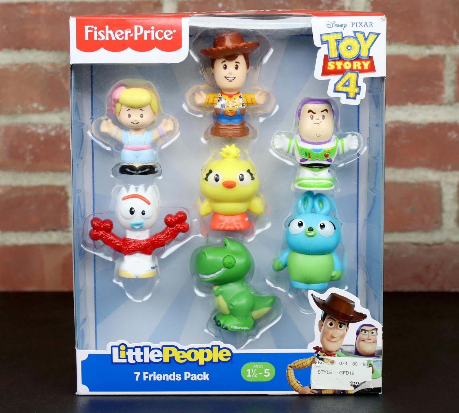 fisher price toy story 4 little people review