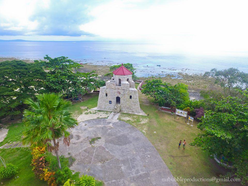 Popular Historical sites Punta Cruz watch tower maribojoc bohol Philippines 2018