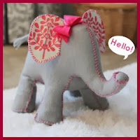 Elefante tope de puerta