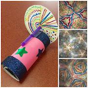 Take & Make DIY Kaleidoscope STEM kit and virtual program