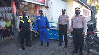Polres Pelabuhan Berikan Pengamanan Kampanye di Pulau Barrang Caddi