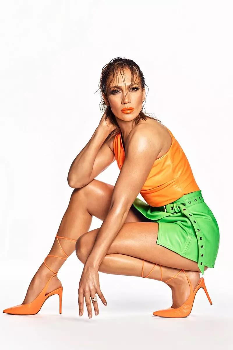 JLO Jennifer Lopez Florella Pump