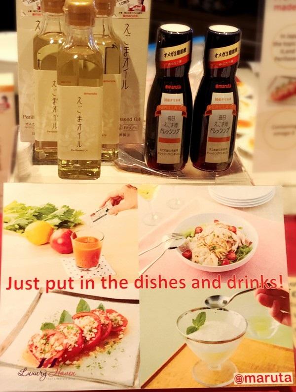 jetro infuse event culinaryon maruta perilla seed oil