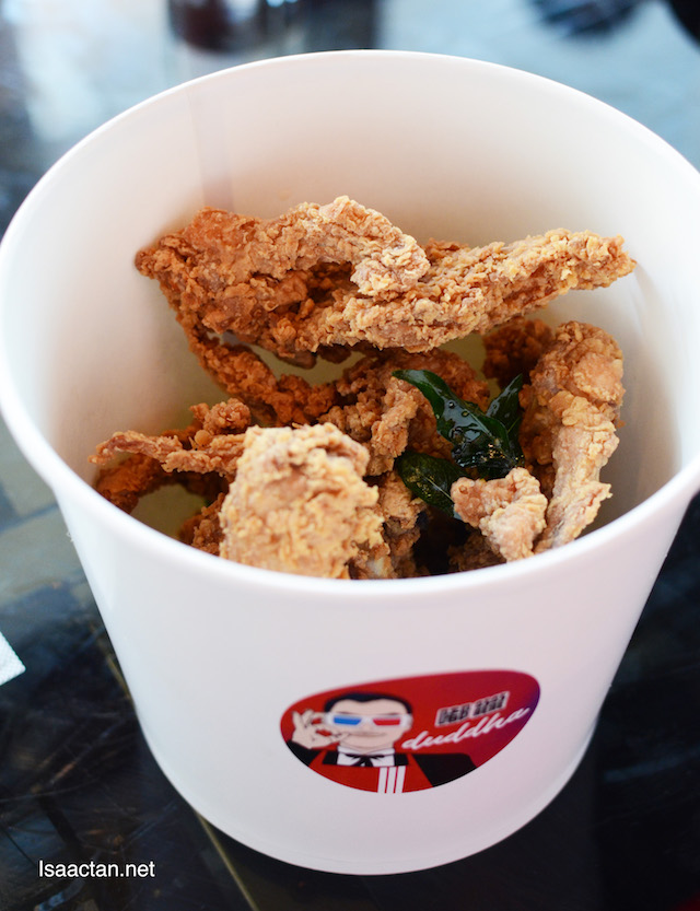 Crispy Chicken Bone with Nan Ru (Fermented Bean Curd) - RM29
