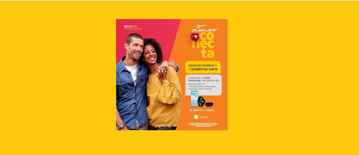 Promoção Campo Limpo Shopping Dia dos Namorados 2021 Amor Conectado