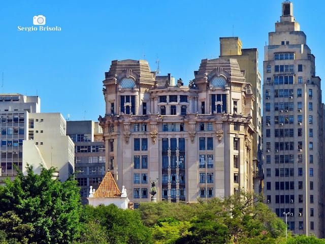Vista da cobertura do edifício do Tribunal de Justiça do Estado de São Paulo - Centro - São Paulo