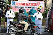 HUT Ke-75 RI, Pemkab Sleman Gebrak Masker
