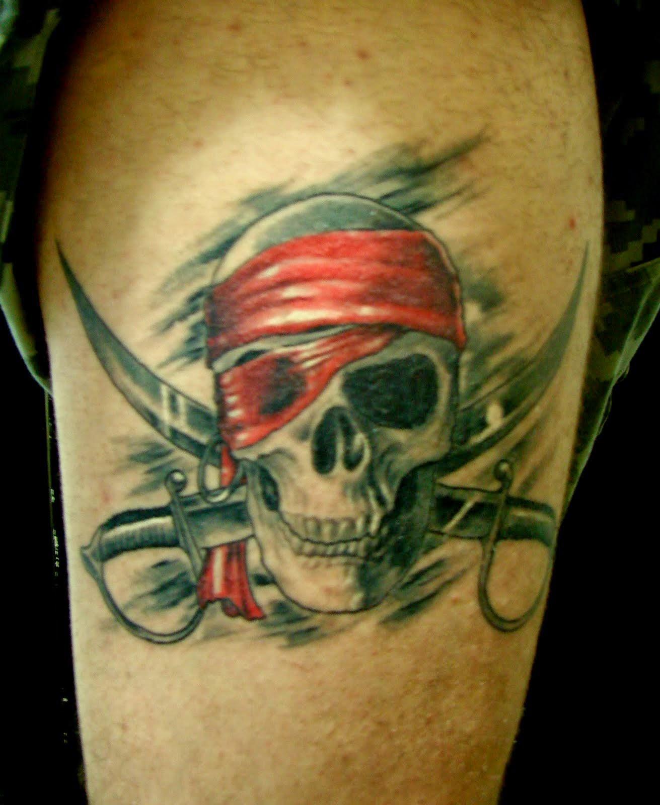 30 Tatuagens De Pirata
