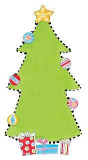 arbol con bolas de navidad