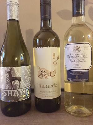 Wines of Rueda verdejo grapes