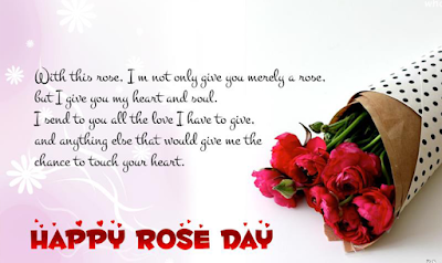 Whatsapp DP for Rose Day 2018