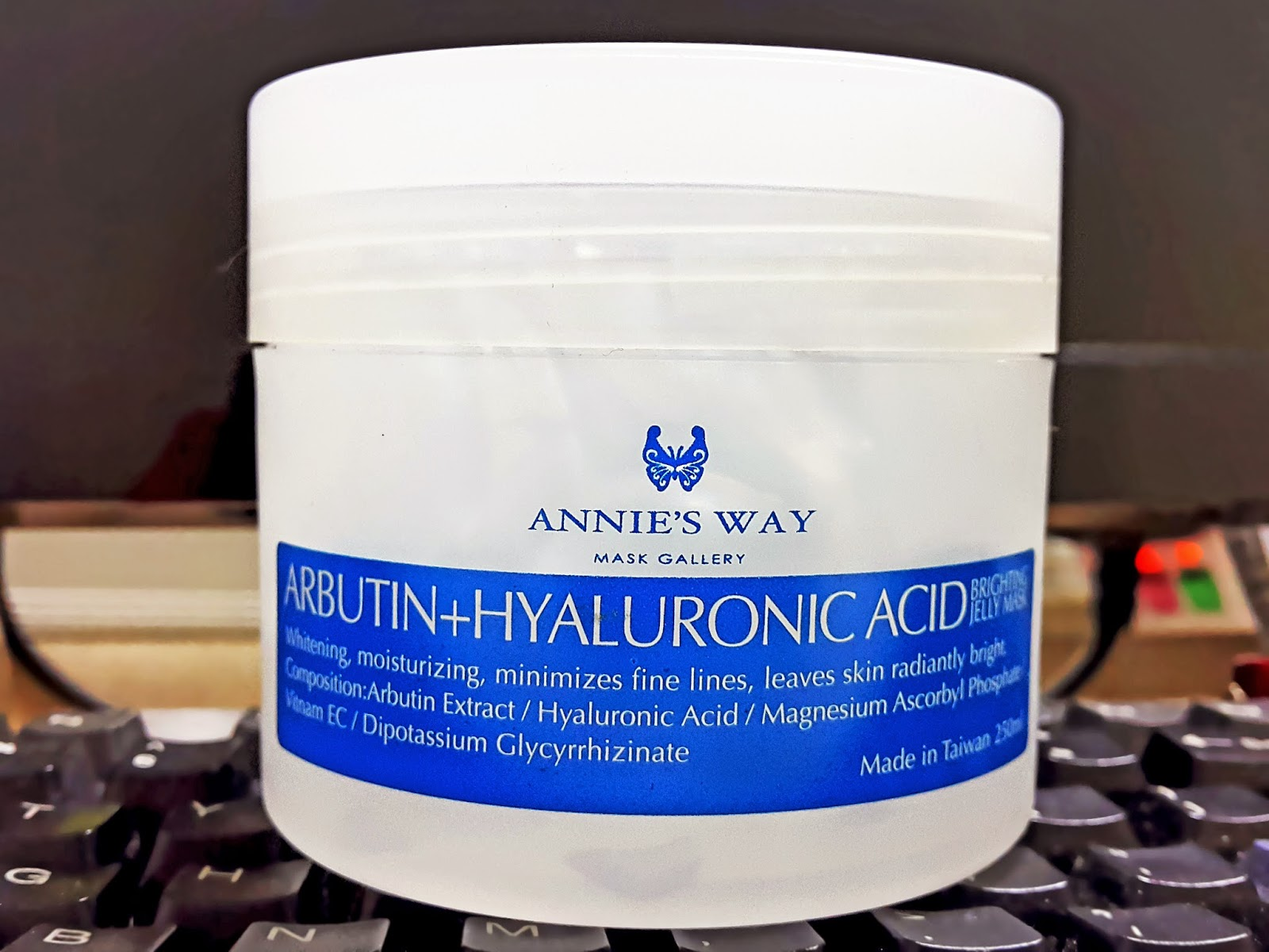 Review] Annie's Way Arbutin + Hyaluronic Acid Brightening Jelly Mask