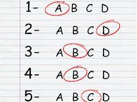 Soal UAS/PAS Bahasa Inggris  Kelas 6 SD/MI Semester 1