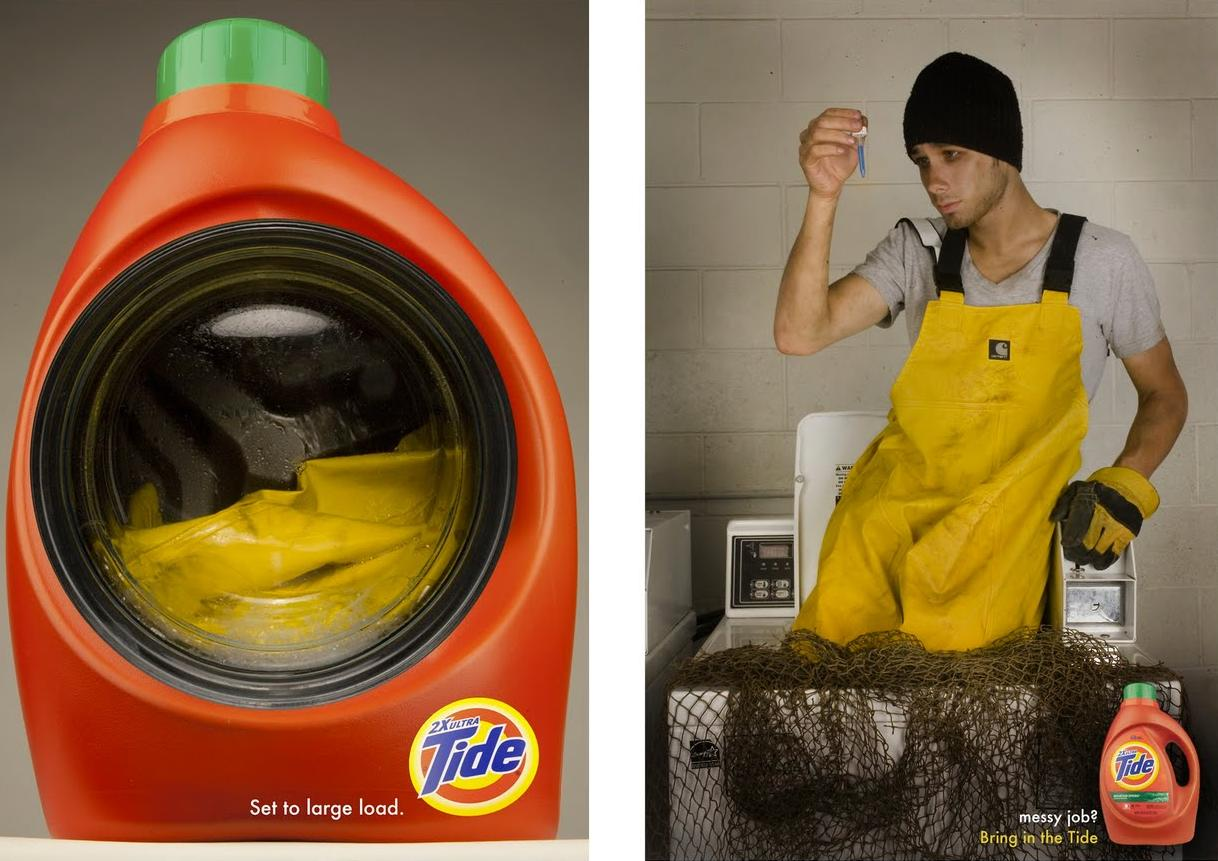 15 Clever And Creative Detergent Advertisements