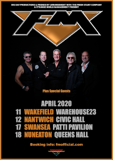 FM - UK tour dates - April 2020 - poster