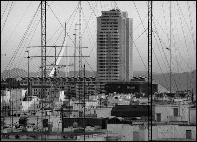 fotografia,urbanismo,valencia,monumento,rascacielos,cables,antenas