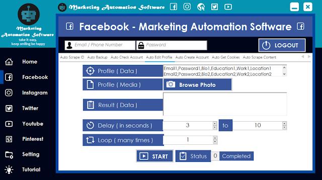 Cara Cepat Edit Data Facebook Secara Automatis