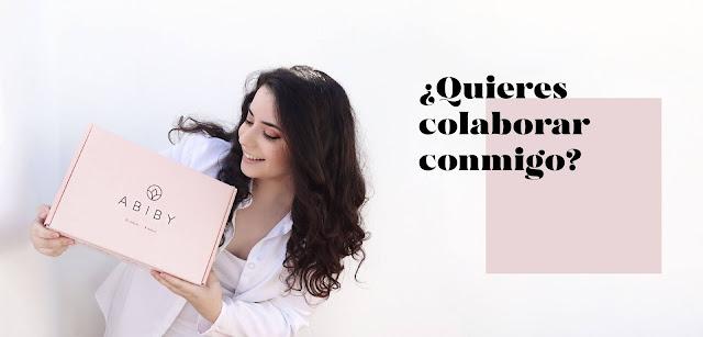 ¿Quieres ser colaborador de este blog? Colabora con tus productos