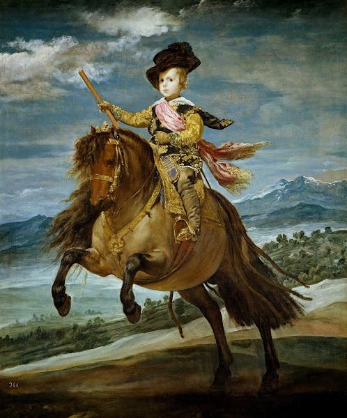 Диего Веласкес - Конный портрет принца Бальтазара Карлоса (1635-1636)