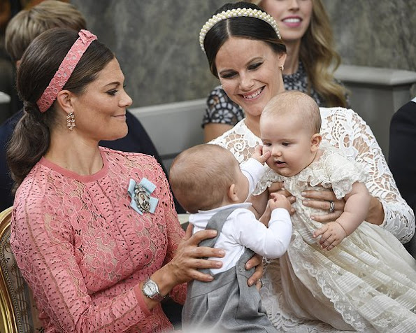 Baptism of Prince Alexander of Sweden, Princess Madeleine, Princess Victoria, Princess Estelle, Princess sofia, Princess Leonore, Prince Oscar, prince Nicolas