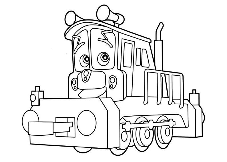 Dibujos De Trenes Chuggington Objetos De Decoracion Online