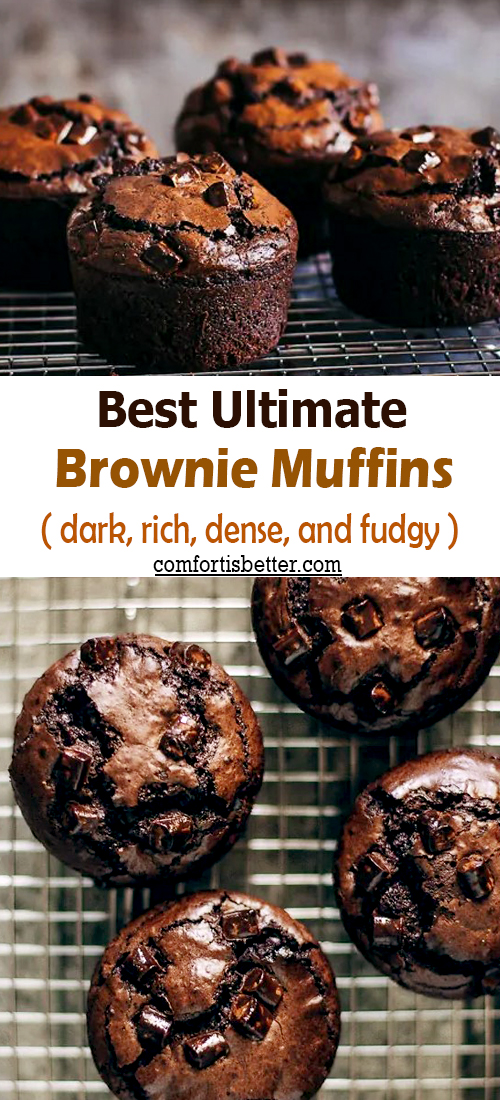 Best Ultimate Brownie Muffins