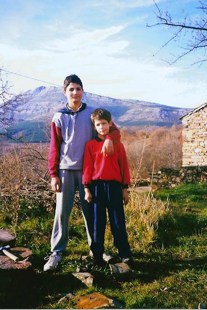 Los hermanos Borobia en Valverde de los Arroyos