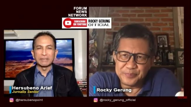 Rocky Gerung Sindir 51 Guru Besar Yang Minta UU KPK Dibatalkan: Telat!