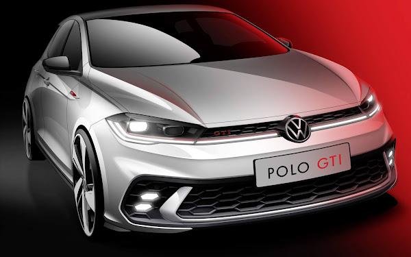Novo VW Polo GTI 2022: primeiras imagens oficiais reveladas