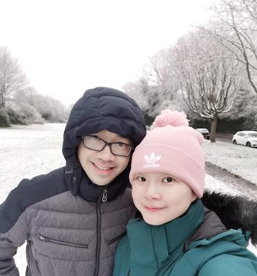 Salju di Inggris