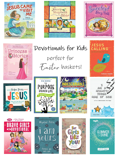 Devotionals for Kids Perfect for Easter Baskets