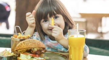 Is it really fast food make depression in children?