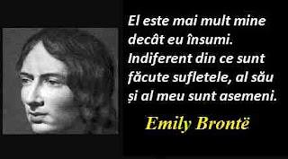 Maxima zilei: 30 iulie - Emily Brontë