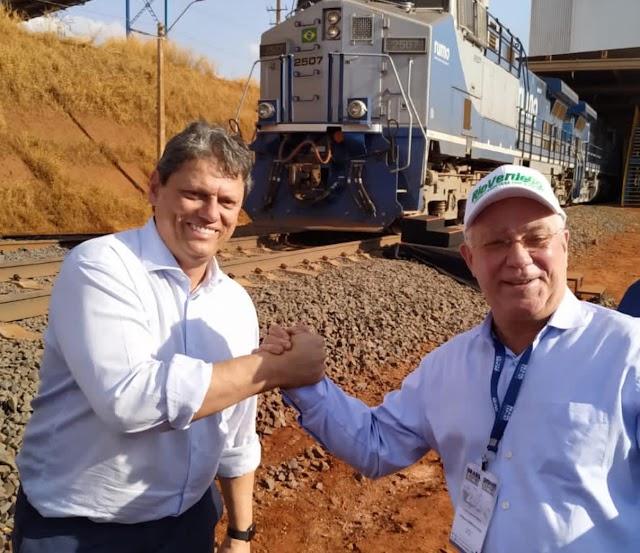 Plataforma Multimodal de Rio Verde é inaugurada; serão gerados 400 empregos diretos