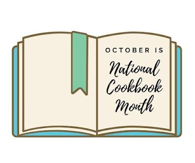 national cookbook month logo