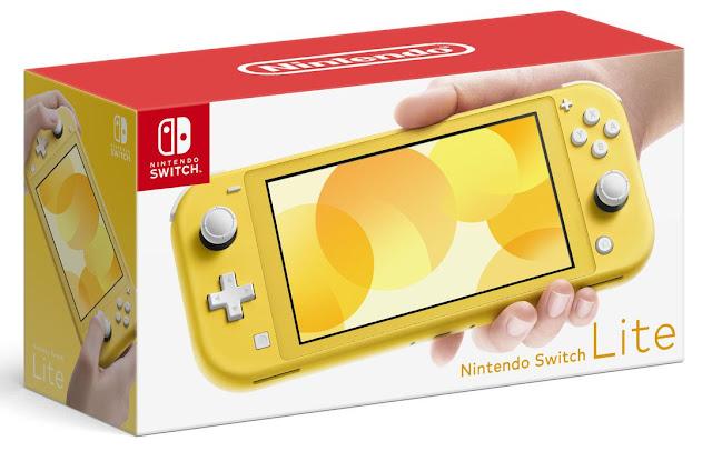 Nintendo Switch Lite desvela sus precios en Europa y América.
