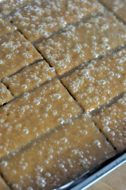 Graham Cracker Toffee | Taste As You Go