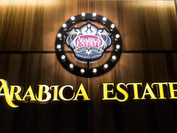 Arabica Estate Cafe @ Automall, Karpal Singh Drive